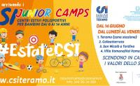 CSI Junior Camp, quattro sedi per una grande estate!